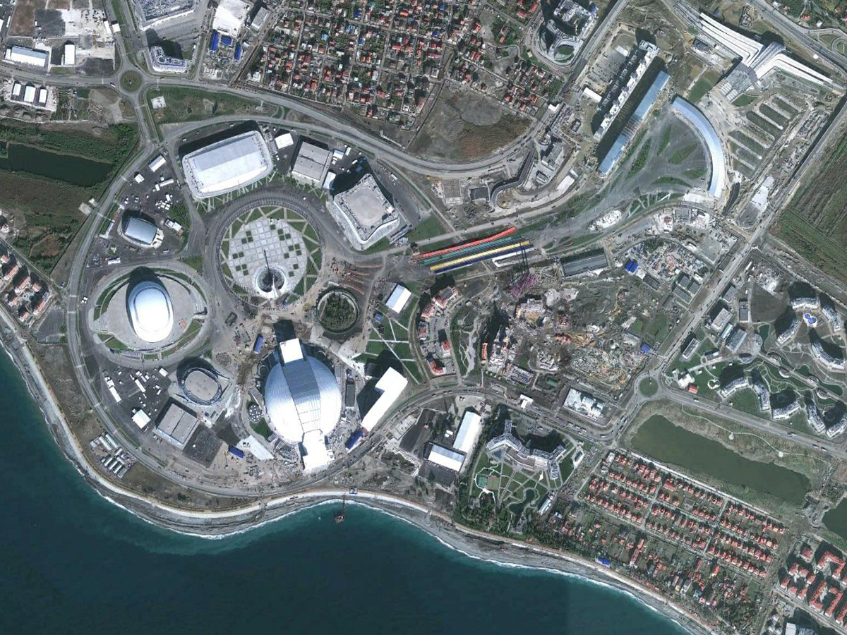 sochi google earth