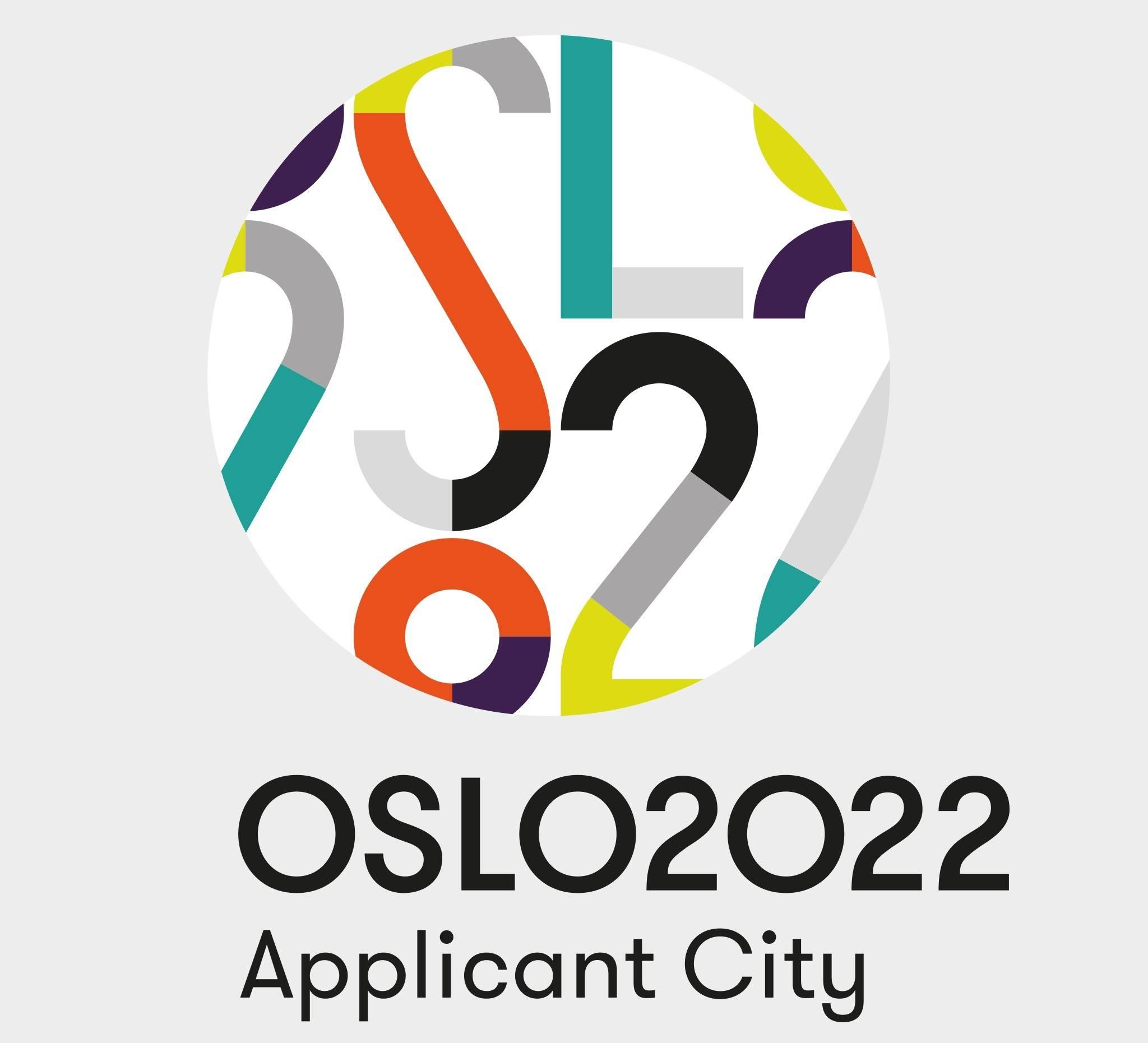 Oslo 2022 visual identity Snohetta  logo
