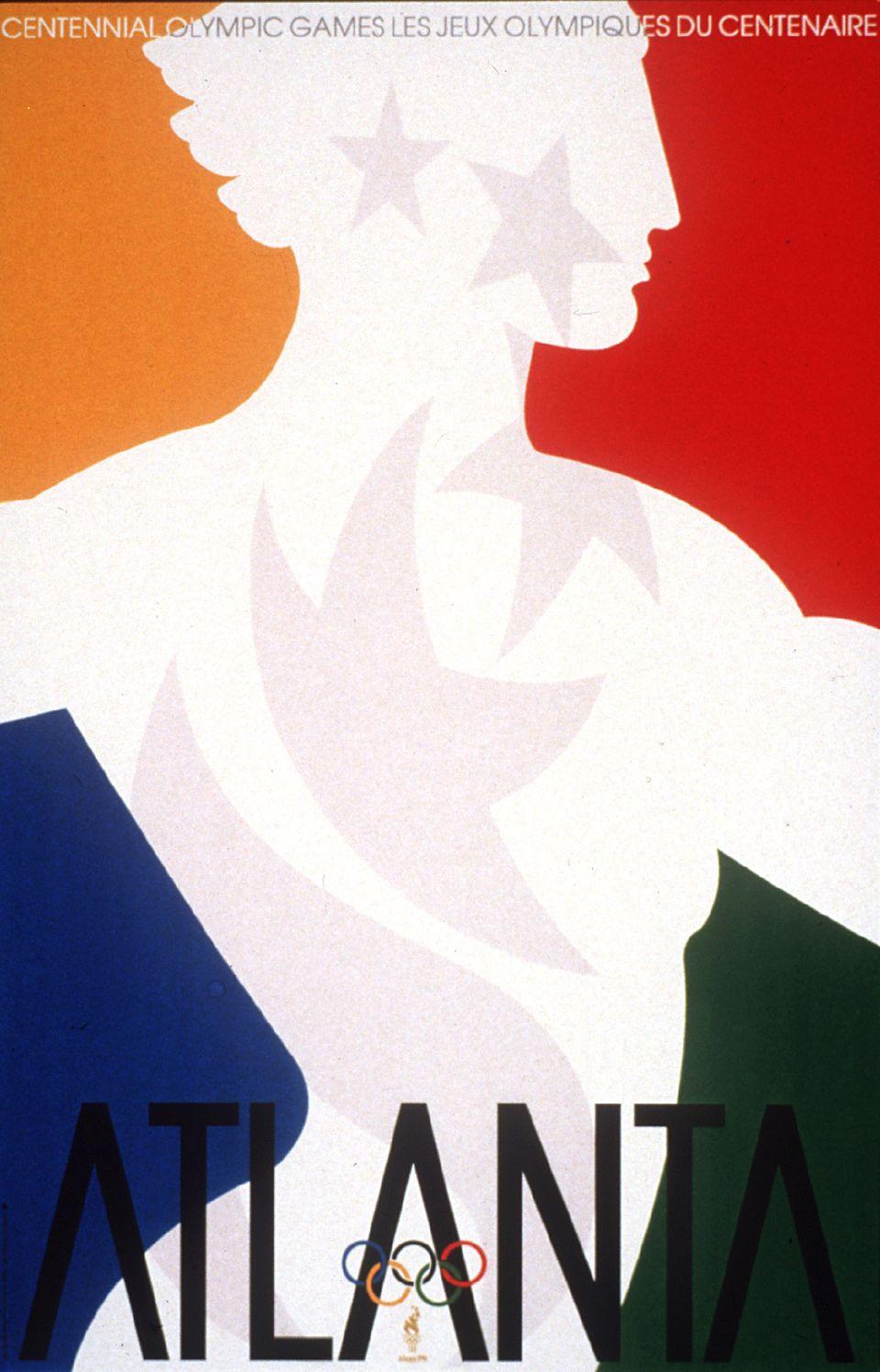 atlanta 1996 poster