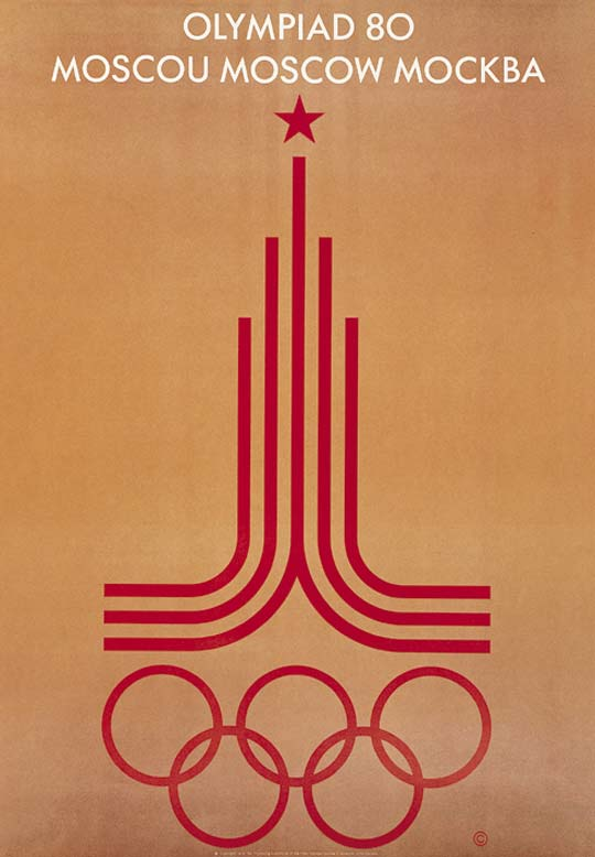 1980 poster moscow