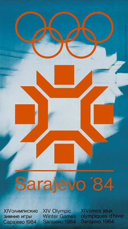 1984 Sarajevo Poster