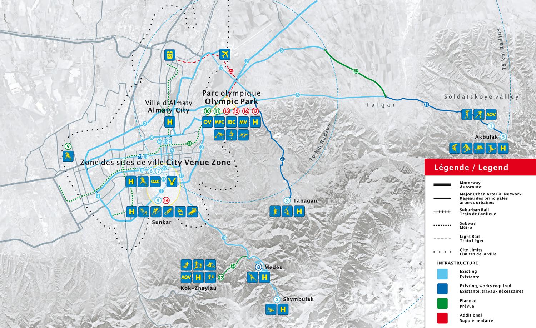 2022 Almaty Map