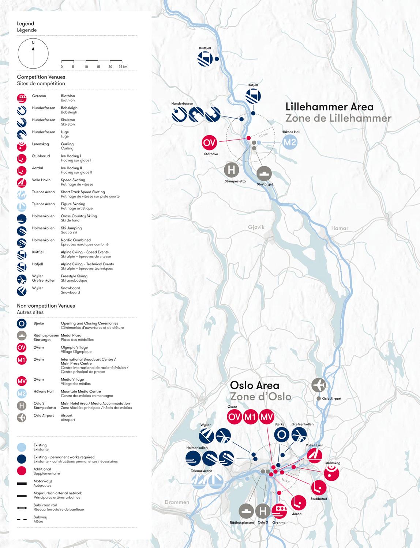 2022 Oslo Map