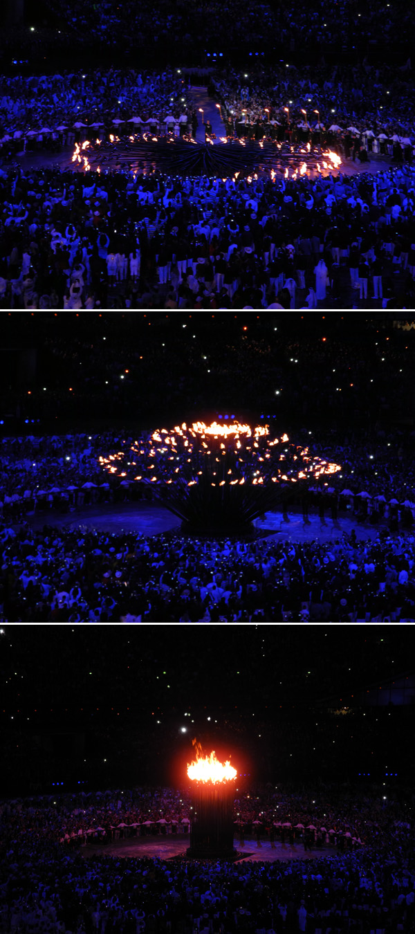 london 2012 cauldron