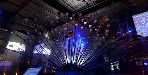 london olympic cauldron museum of london 1