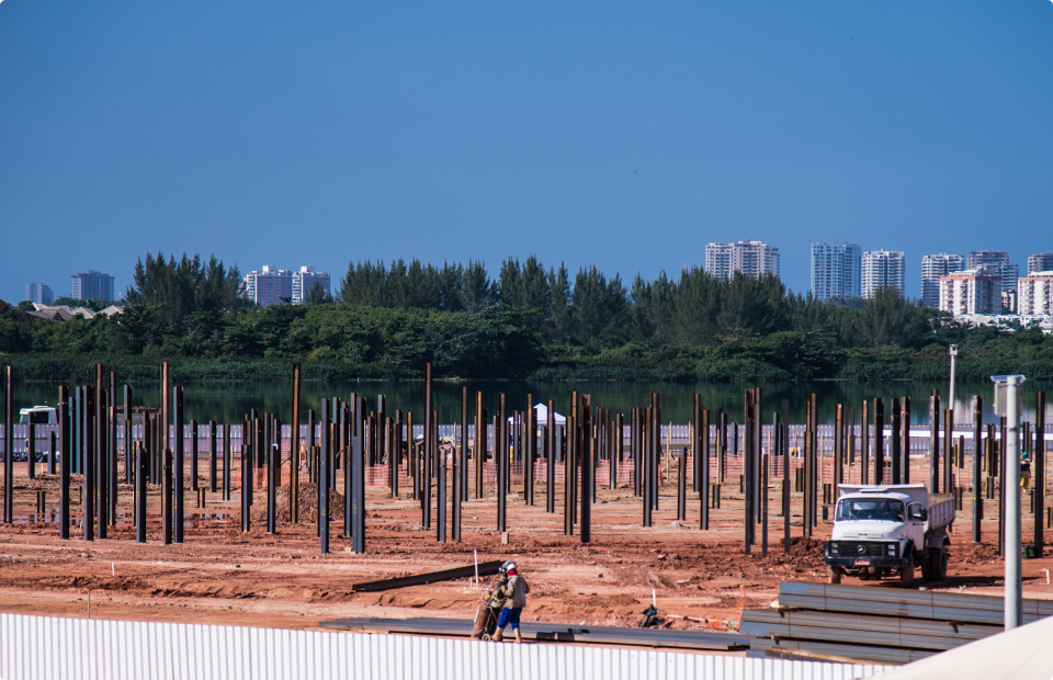 Rio 2016 Construction Barra Olympic Park (8)