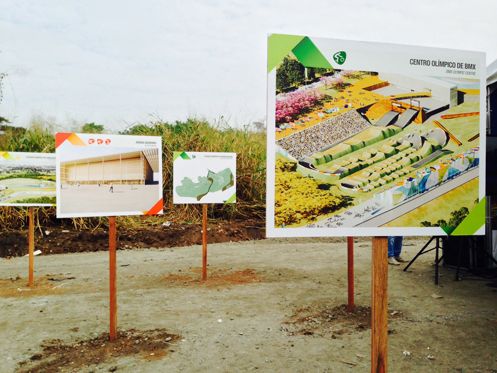 Work starts on Deodoro Olympic Park Rio 2016