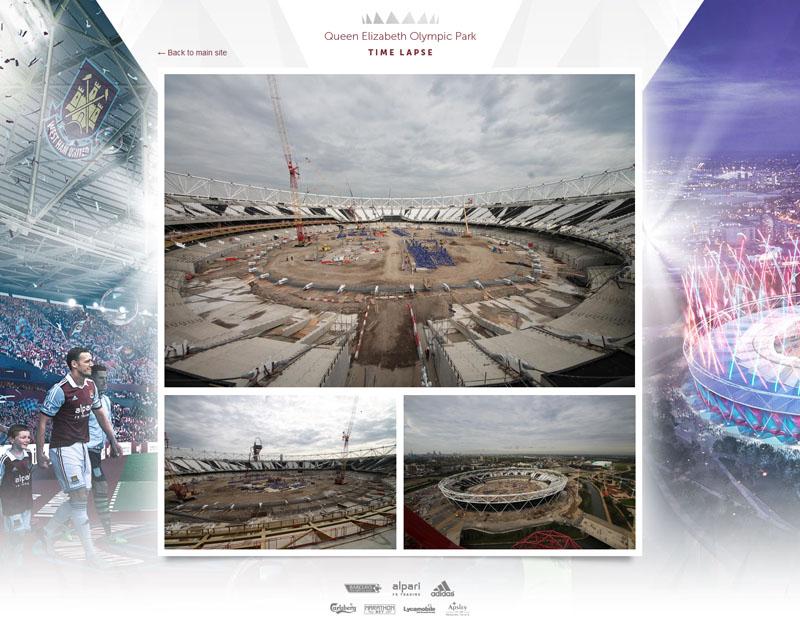 Follow transformation Olympic Stadium via hi-res time-lapse cameras