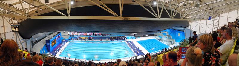 Aquatics Centre Architecture Of The Games