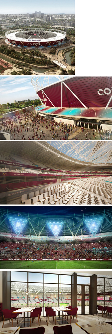 New renders Olympic Stadium