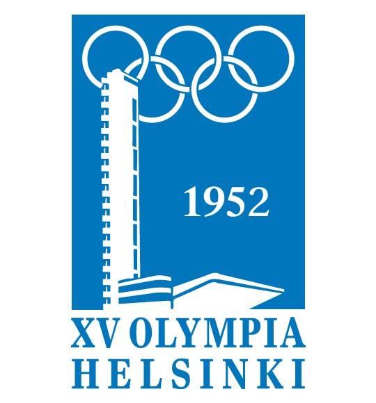 1952 helsinki emblem logo
