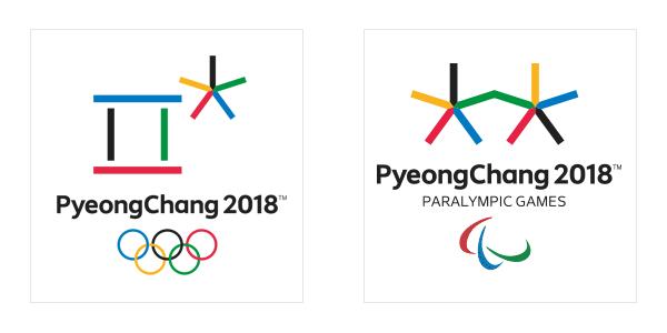 PyeongChang 2018 Olympic Paralympic logo emblem