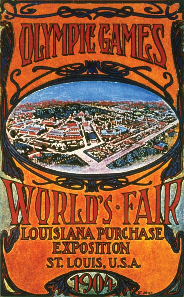 st louis 1904 poster