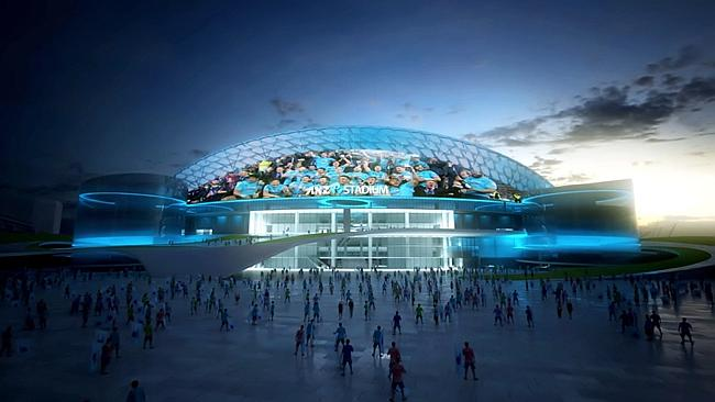 ANZ Stadium's new redevelopment plan