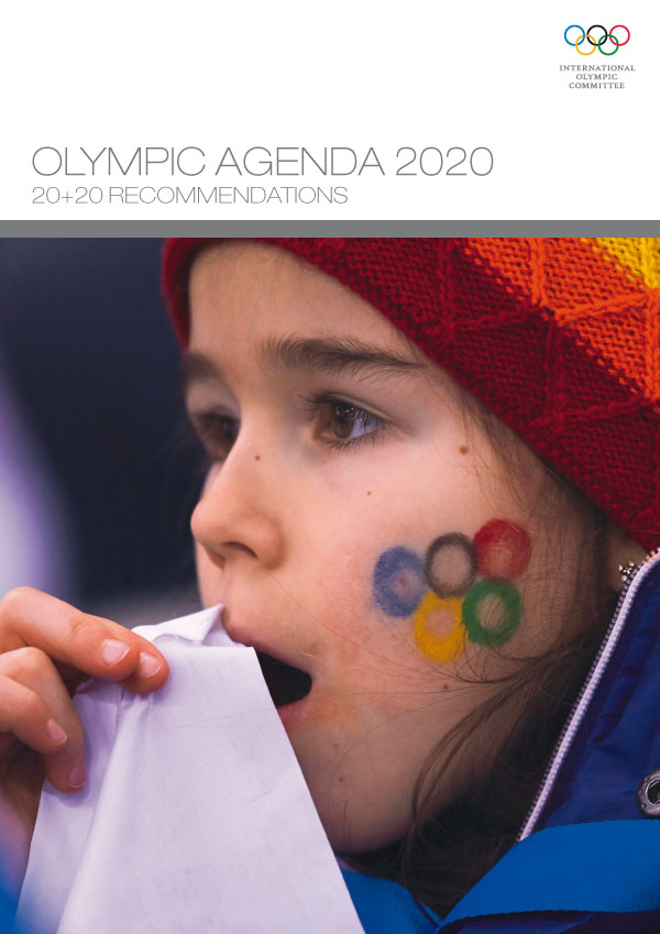 Olympic Agenda 2020 - 20+20 Recommendations to shape the future