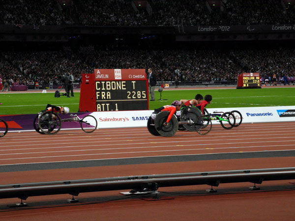 Athletics at the 2012 Summer Paralympics