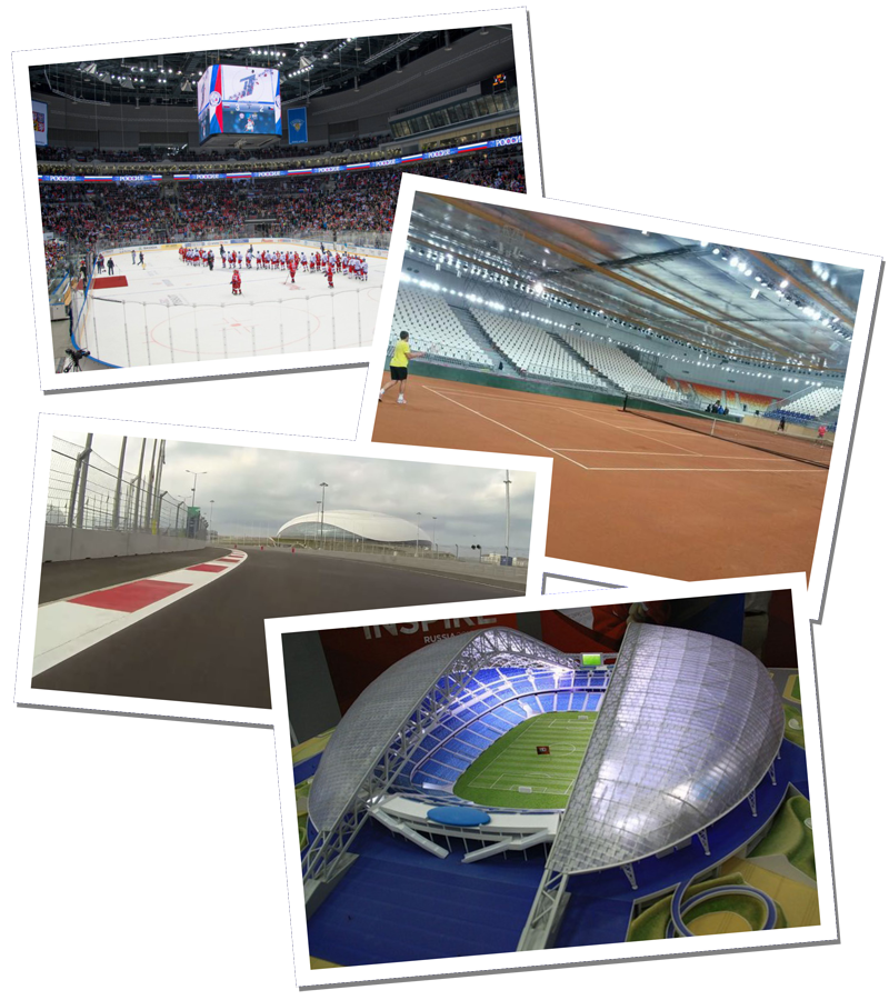 Sochi 2014 One year on montage