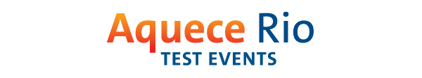 Aquece Rio test events logo