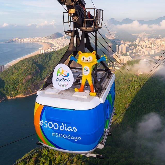 Rio de Janeiro 2016 500 days to go
