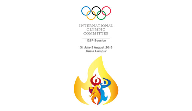 128th ioc session logo