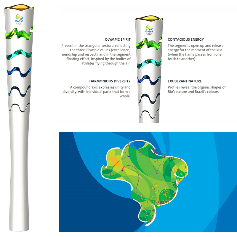 rio 2016 olympic torch