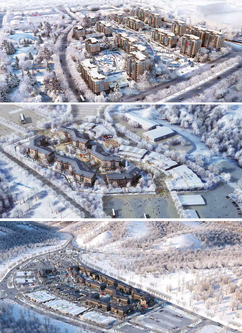 Athletes Villages Beijing, Yanqing and Zhangjiakou - © Beijing Organising Committee of the Olympic Games