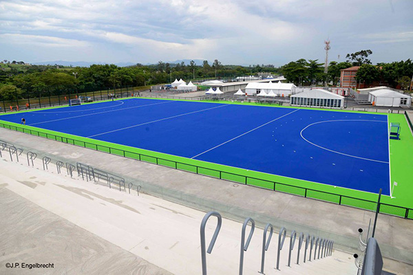 © J.P. Engelbrecht | Tomorrow the Hockey test event for Rio2016 will take place in the Deodoro Park (@Olympics on Twitter)