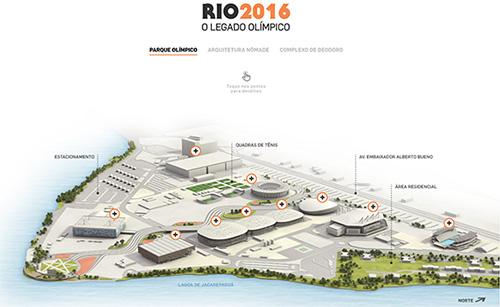 Infographic Rio 2016 venues Estadao