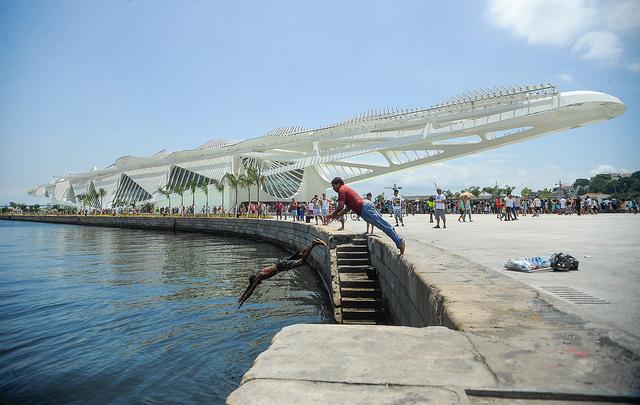 Museum of Tommorow (Santiago Calatrava) opens in Rio de Janeiro. Photo: Agência Brasil Fotografias on Flickr. (CC BY 2.0)