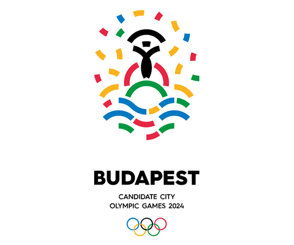 budapest bid logo 2024 olympic games
