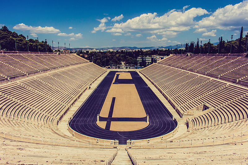 Panathenaic Stadium Athens | BK on Flickr | Panathenaic Stadium (Panathinaiko Stadio), Photo credit: RzlBrz007700 | (CC BY-SA 2.0)