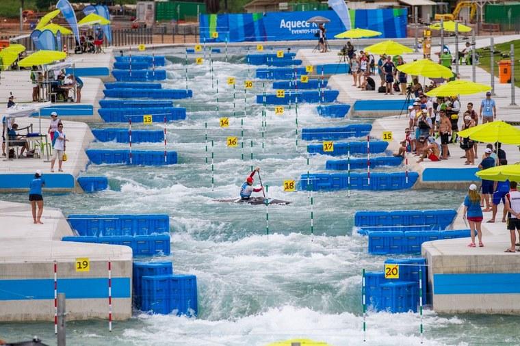 Rio 2016 Test Event Canoe Slalom. November 2015 Photo: Miriam Jeske/brasil2016.gov.br