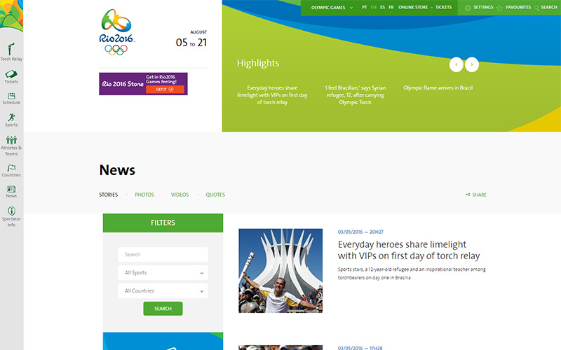 rio 2016 website may 2016 olympics 1