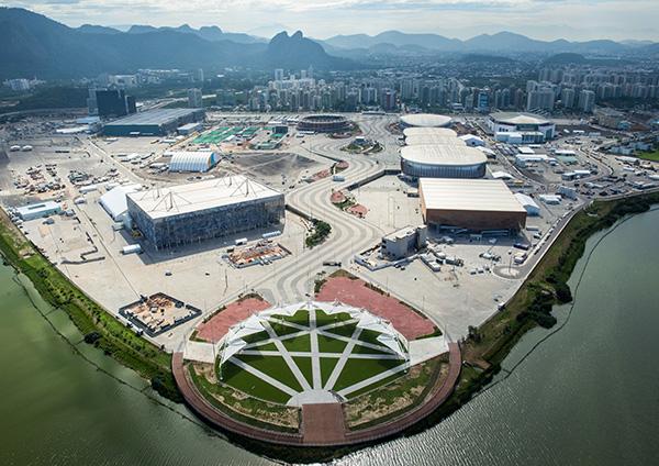 Aerial photo: André Motta / brasil2016.gov.br (June 2016)
