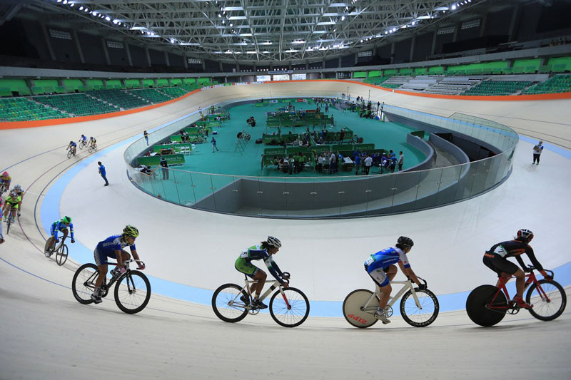 Rio 2016 Velodrome officially opened 4