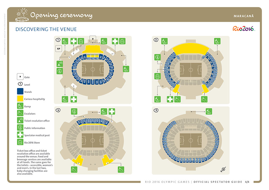 Spectator Guide Opening Ceremony © Rio2016