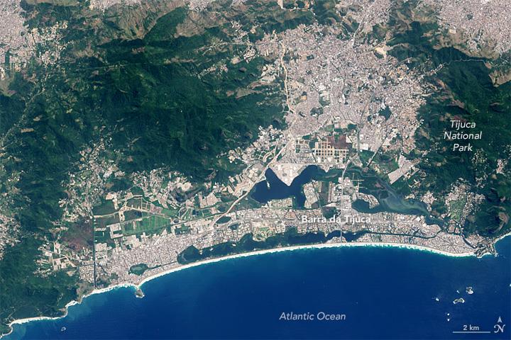 NASA Earth Observatory image by Jesse Allen, using Landsat data from the U.S. Geological Survey.