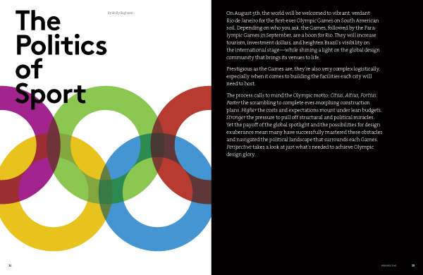 The Politics of Sport Perspective Magazine
