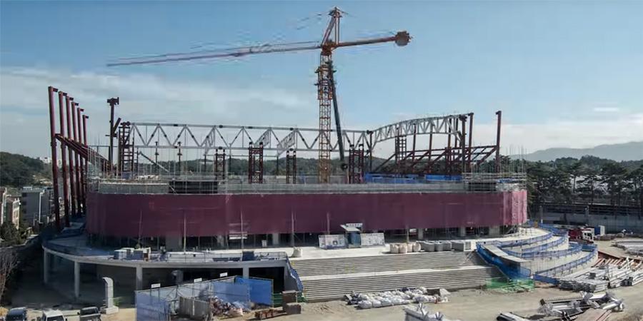 PyeongChang 2018; Construction update video August 2016