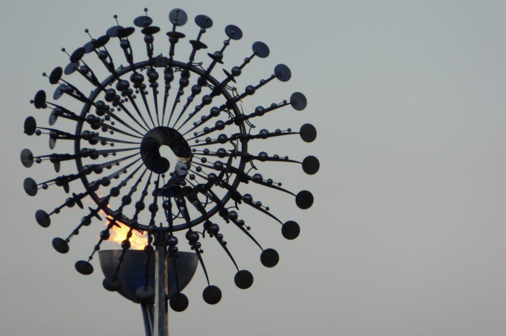 Rio 2016 olympic cauldron