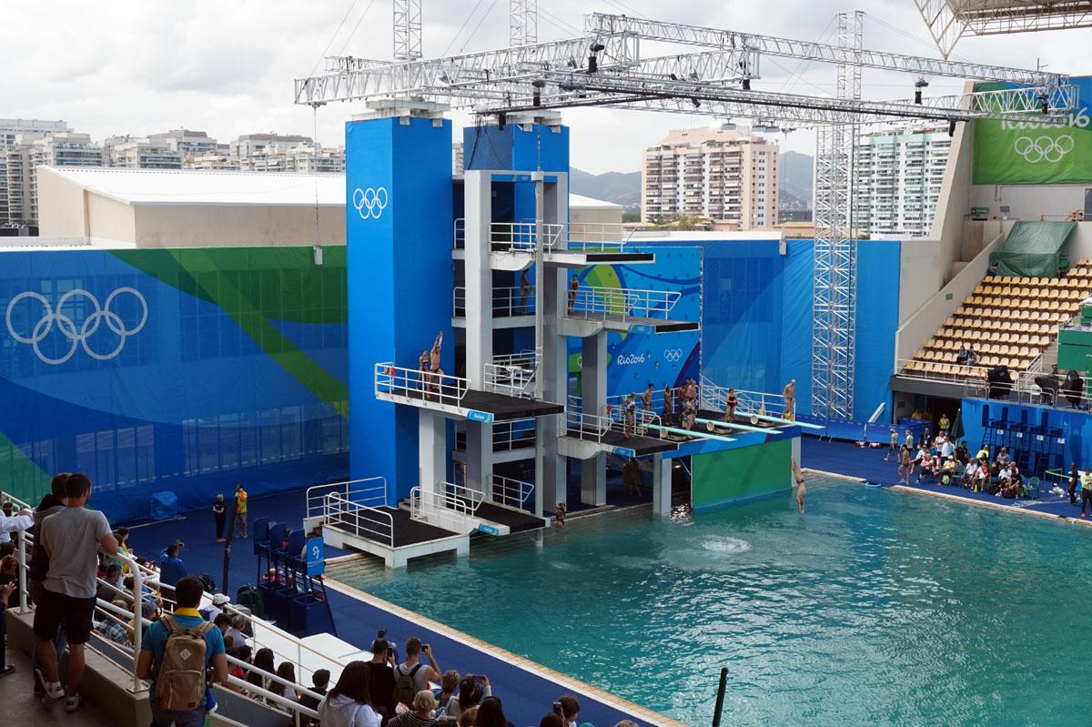 Maria Lenk Aquatics Centre - Diving Pool