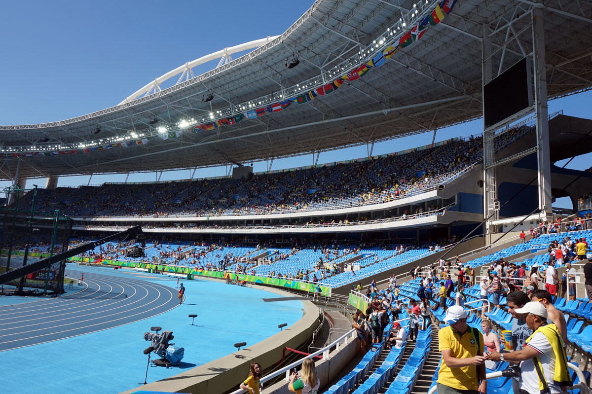Rio 2016; Olympic Stadium – Architecture of the Games