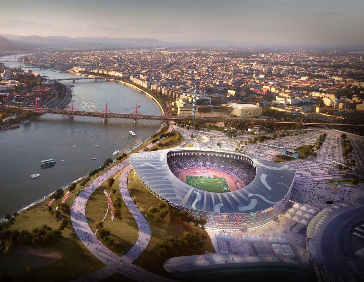 20 Bid; New renders Budapest 20 20 – Architecture of the Games