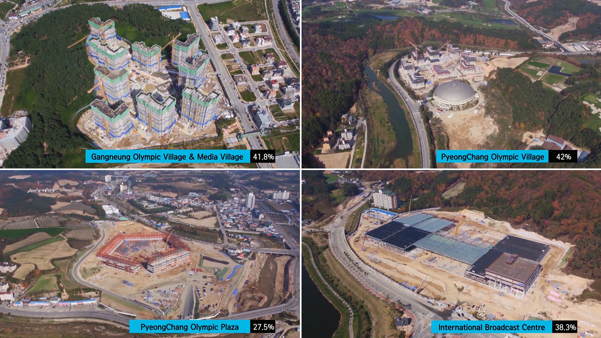 PyeongChang 2018 Construction update December 2016 Architecture