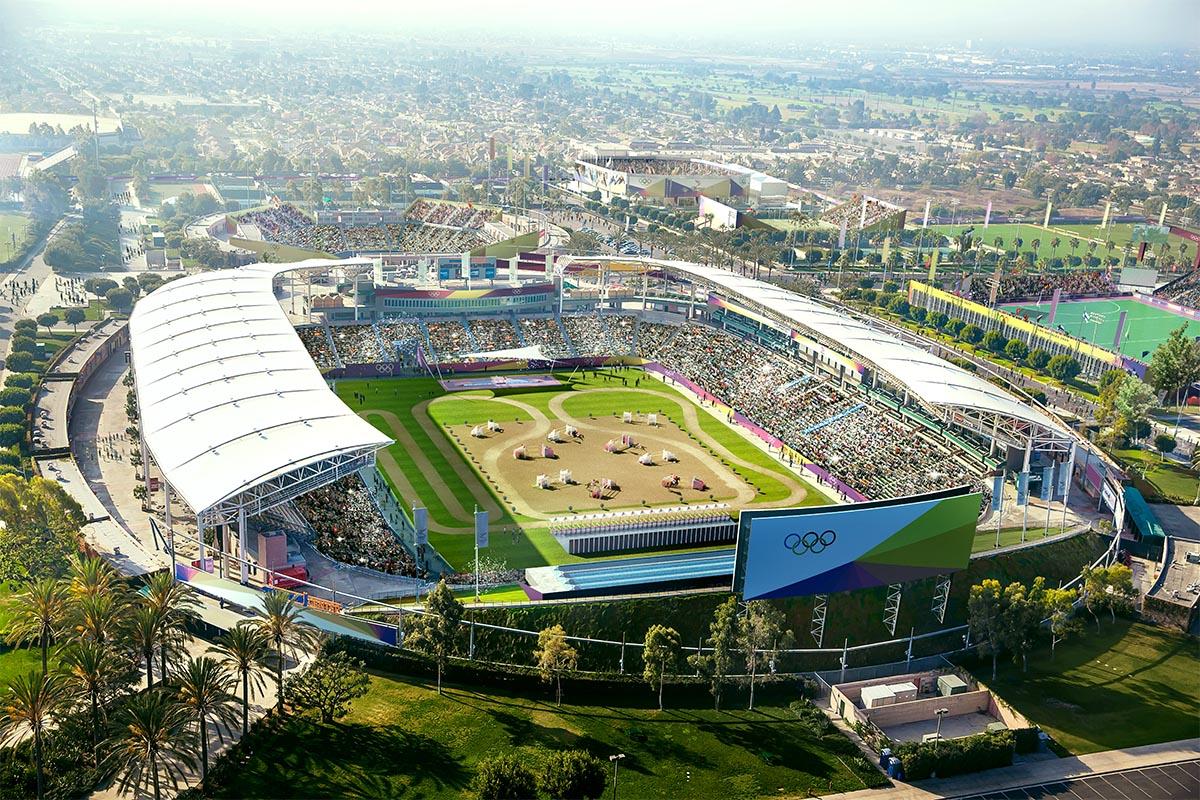 200 Bid; New venues in Los Angeles' 200 Olympics bid 20 ...