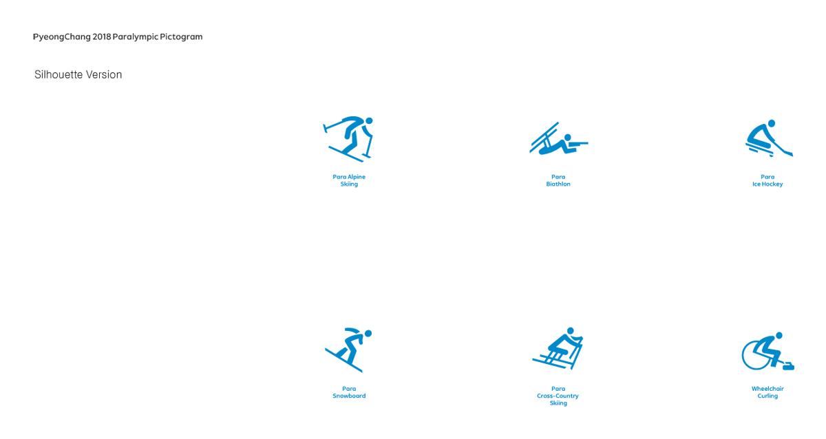 Pyeongchang 2018 pictograms paralympic games architecture of the pyeongchang 2018 pictograms paralympic games ccuart Images