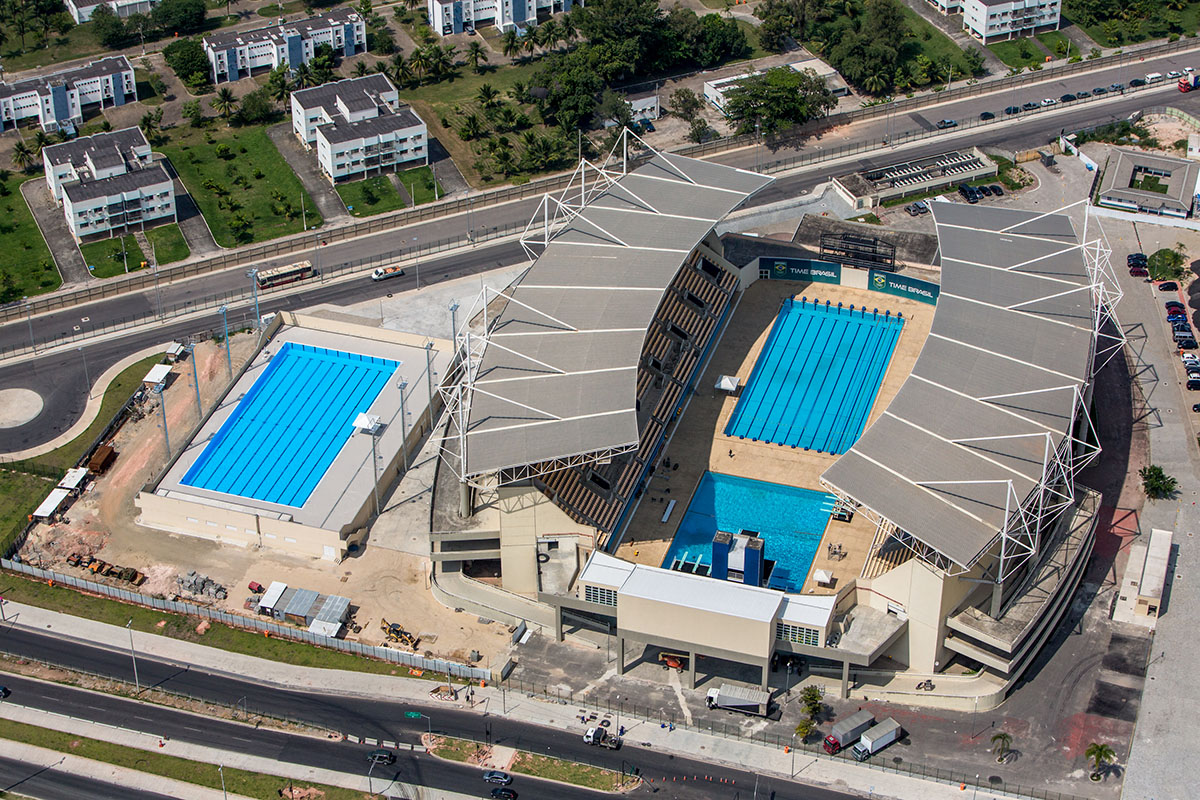 Maria Lenk Aquatics Centre - Overview