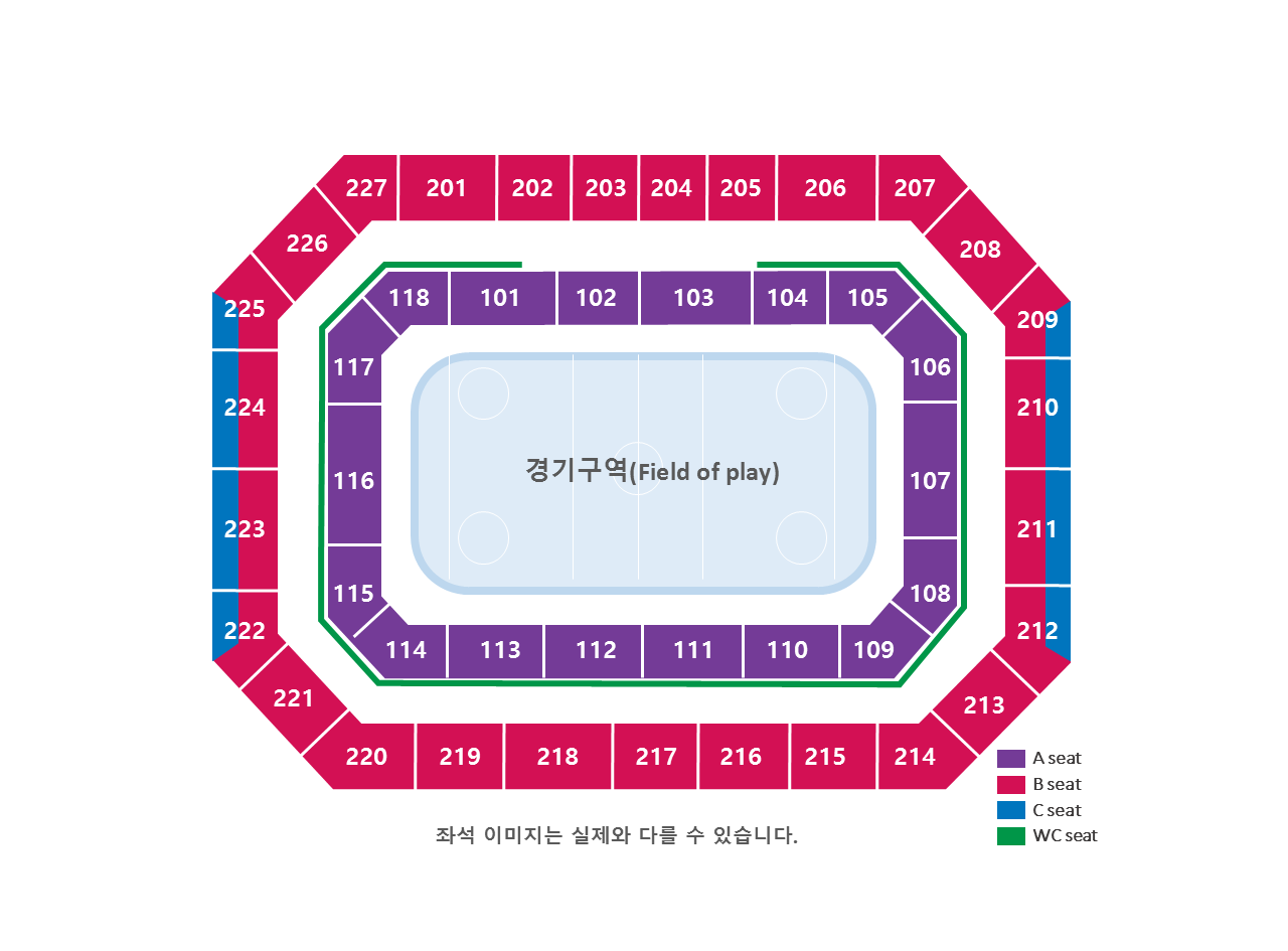 Pyeongchang 2018 Detailed Venue Maps Architecture Of The Games