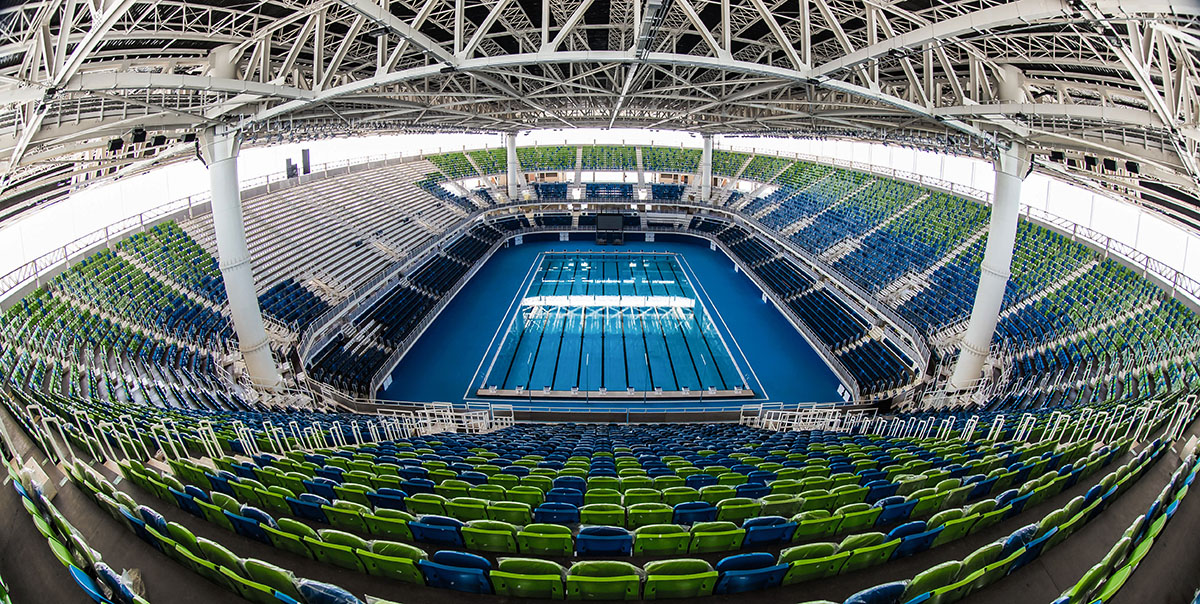 olympic aquatics stadium - Olympic Swimming Pool 2016