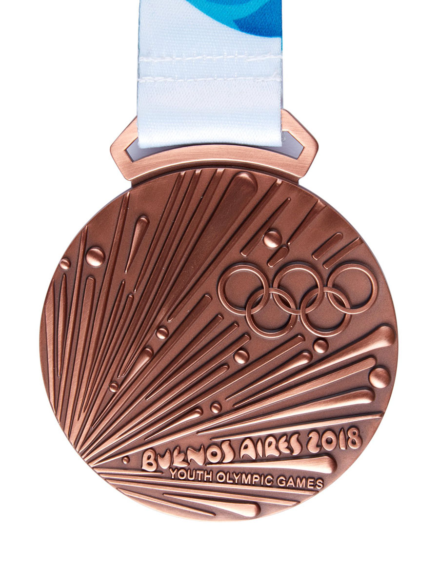 Buenos Aires 2020 Summer Youth Olympic Games Medals By Country.Medal Design Architecture Of The Games